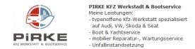 Pirke Kfz Werkstatt & Bootservice